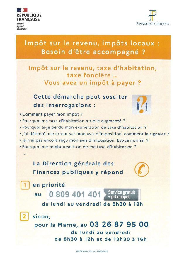 campagne impots